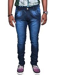 Jugend Blue Stretchable Skinny Fit Jeans For Men