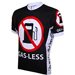Gas Less Mens Cycling Jersey