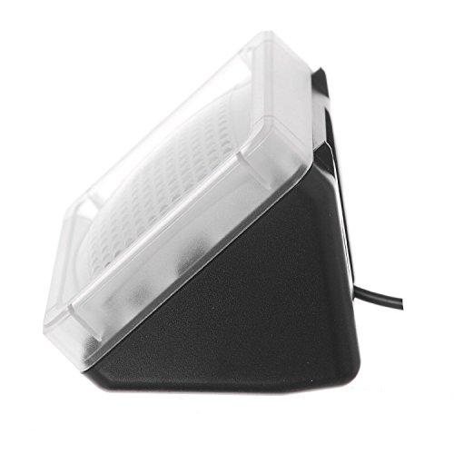 AGPTek® LED TV Simulator, Fernseh Attrappe-Fake, Einbruchschutz, Home Security, Lichtsensor und Timer, 3 Programme wählbar, 20 farbige LEDs - 5