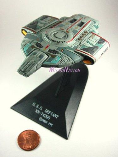 U.S.S. Defiant NX-74205 Furuta Star Trek Federation Ships & Alien Ships Collection 1 M...