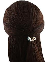 Anuradha Art Sky-Blue Colour Designer Classy Stylish Clutcher Classy Hair Accessories For Women/Girls