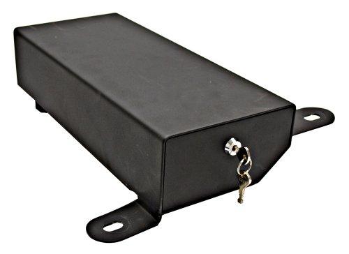 Bestop 42642-01 Black Under Seat Passenger Side Lock Box (does not fit '11-up Wrangler 2-door models)