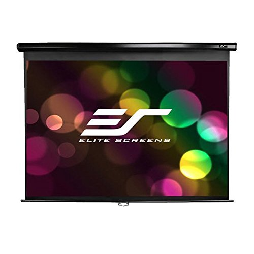 Elite Screens Manual, 135-inch 4:3, Pull Down Projection Man