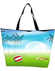 Snoogg Abstract Summer Background Waterproof Bag Made Of High Strength Nylon - B01I1KLFVS