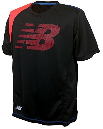 (ニューバランス)new balance ドライ半袖Tシャツ NBR42127M 090 ブラック O