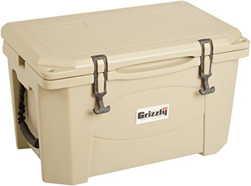 Grizzly Coolers Cooler, Tan/Tan, 40-Quart