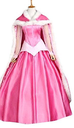 Halloween 2017 Disney Costumes Plus Size & Standard Women's Costume Characters - Women's Costume Characters Women's Adult Deluxe Sleeping Beauty Costume with Cape - Size Small - XL or Custom Made