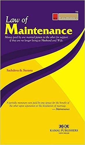 Law of Maintenance