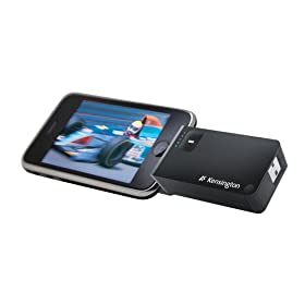 Kensington Travel Battery Pack and Charger for iPhone and iPod touch (Black)