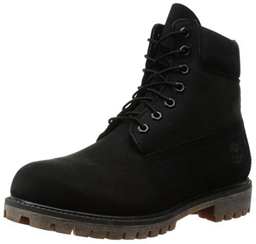 Timberland Herren Stiefel 6-Inch Premium Waterproof Boot Black 42