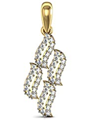 Bling!Real Gold And Diamonds Janvi Pendant BGP053A