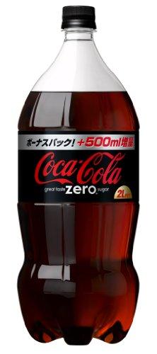 コカ・コーラ ゼロ 関西限定デザイン 2L×6本