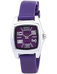 Watch Me Purple Rubber Analogue Watch For Women WMAL-110-PR
