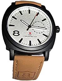 Rjcreation Analogue White Dial Men's Watch-C-Whiite Dial-B
