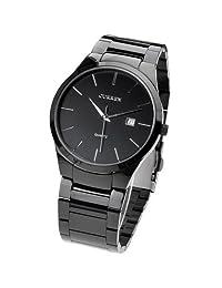CURREN Men Quartz Wrist Watch Wristwatch With Alloy Band