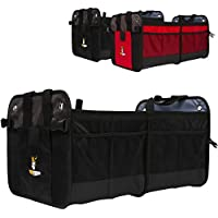 Car Organizer-Car Trunk Organizer-SUV Cargo Organizer By Tuff Viking For Car Truck With Removable Divider,Pockets...