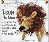 Kamibashi Leon the Lion Original String Doll Gang Keychain Toy