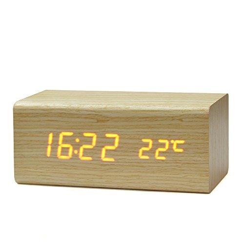 アラームだけが取り柄じゃない! おしゃれなデザインの目覚まし時計で朝一番にアクセントをプラス 3番目の画像