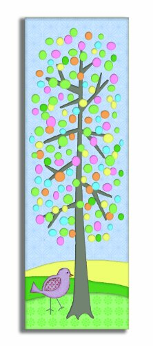 The Kids Room By Stupell Oversized Wall Decor, Polka Dot Tree And Birdie Print Kids Room Décor And Wall Art