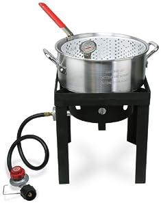 Amazon.com : Cajun Injector Fish Fryer Welded : Deep