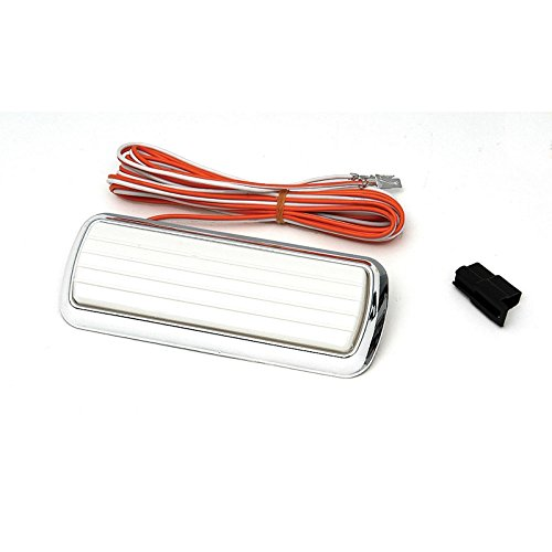 Eckler's Premier Quality Products 61156492 Chevy Or GMC Truck & Suburban Dome Light Assembly With Chrome Base