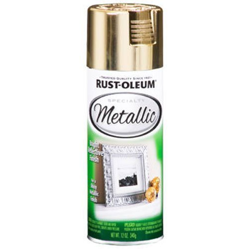 Rocky Horror Picture Show Rust-Oleum 1910830 Metallic Spray, Gold, 11-Ounce