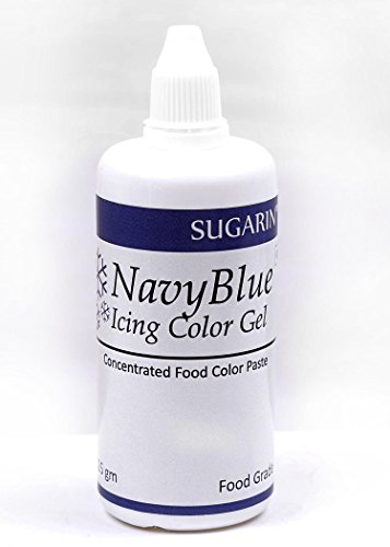 Sugarin Icing Color Gel For Fondant, Navy Blue_125 Grms