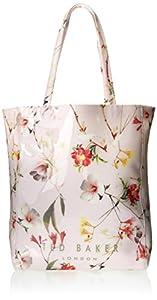Ted Baker Botanical Bloom Print Icon Shoulder Bag,Pale Pink,One Size