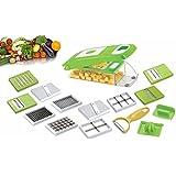 One Stop Shop Slings Super Dicer Fruit & Vegetable Chopper, Chipper, Peeler, Cutter, Slicer 14 In 1