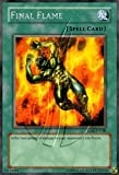 2002 Legend of Blue Eyes White Dragon 1st Edition LOB-100 Final Flame (R)