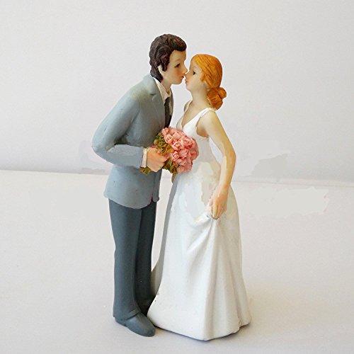 Wedding Cake Toppers Romantic Love Bride and Groom Figurine