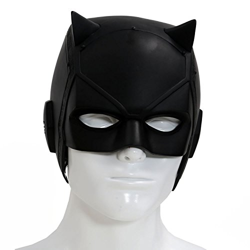 Dare Devil Mask Matt Murdock Cosplay Adult Black PVC Halloween Helmet