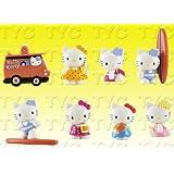Hello Kitty Charm Surf Figure Series 3 - 1 Figure Collection Set (8/Set)