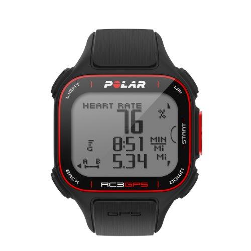 POLAR(ポラール) ハートレートモニター RC3 GPS HR [心拍センサー付き] ブラック 90048174