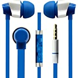 Hello Zone Sporty Look And Comfort Fit Stereo Headset Handsfree Headphone Earphone With Mic 3.5 MM Jack For Micromax Unite 2 A106 With 8 GB Rom -Blue