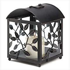 Laurel Branch Botanical Birdcage Candle Holder Corral