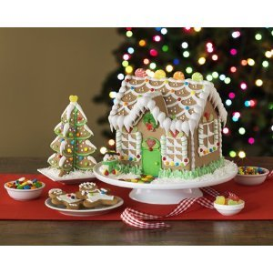 gingerbread house kits orbit gingerbread house kit with tree 1 kit 12048