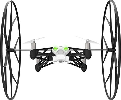 Parrot Minidrones Rolling Spider Drone, Bianco/Nero