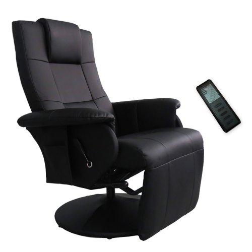 Fernsehsessel Massagesessel Relaxsessel Sessel Shiatsu Massage Schwarz