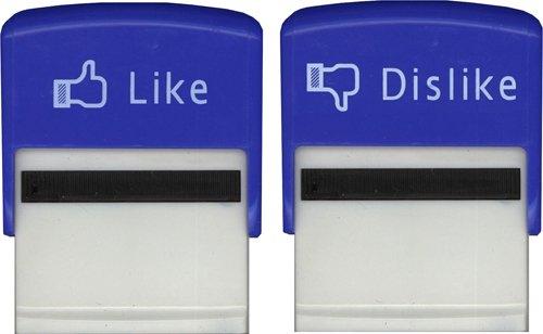 Facebook Like and Dislike Stam...