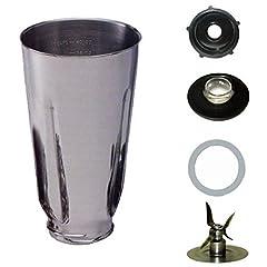 Blendin 5 Cup Stainless Steel Complete Blender Jar