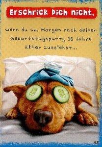 Kim lustige Geburtstagskarten 045: Amazon.de: Küche & Haushalt
