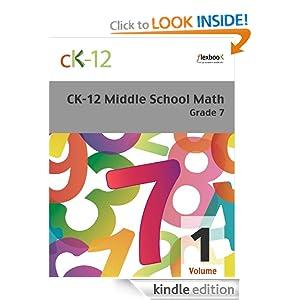CK-12 Middle School Math Grade 7, Volume 1 Of 2