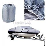 Alcoa Prime Universal 14-16ft UV Sun Protection Fishing Ski Boat Cover Storage Waterproof