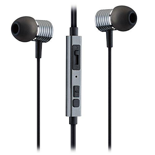 897ca1b89f2 Mpow Auriculares con micrófono (control remoto integrado), audio de 3.5mm,  profesional