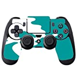 Cute The Little Mermaid Blue Silhouette Design Print Image PS4 DualShock4 Controller Vinyl Decal Sticker Skin by Trendy Accessories