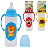 Baby Years BPA Free Baby Bottle With Animal Art - 9 Oz Bottle (DS19893) (Yellow)