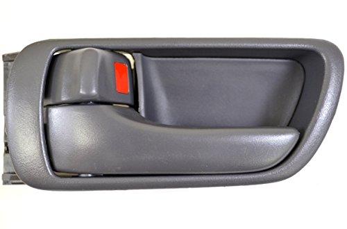 PT Auto Warehouse TO-2469G-LS – Inside Interior Inner Door Handle/Trim, Gray – Driver Side