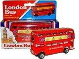 Diecast London Model Bus (LARGE)! With Moving Wheels! Souvenir / Speicher / Memoria! Diecast Metal Buses! Royally stylish gifts! Modèle de Voiture / Modellautos / Modello di Auto / Modelo de Coche!