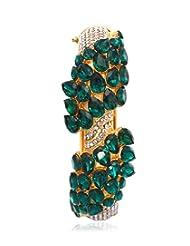 Eclat Brass Gold Plated Bracelet For Women New Fashion Jewelry (1112108GG)